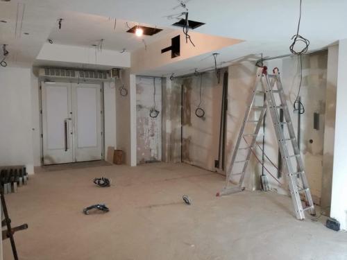 Rekonštrukcie obchodných priestorov
